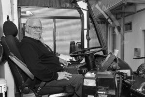 Conducteur de véhicule de transport en commun